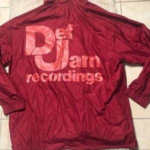 RARE NWT Adidas Def Jam Recordings Jacket